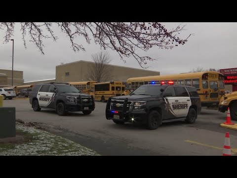 Officer shoots armed student at Wisconsin school