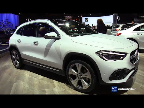 2020 Mercedes Benz GLA Class GLA 200 - Exterior Interior Walkaround - Debut 2020 Brussels Motor Show