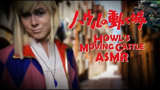 Howl Cures Your Curse ASMR Howls Moving Castle (Personal Attention, Spell Making, Fabric Sounds)