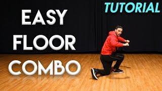 Easy Floor Combo (Hip Hop Dance Moves Tutorial)   MihranTV