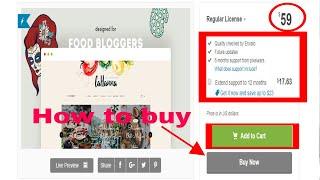 how to buy WordPress Food Blog Theme for Food Bloggers (Lahanna)