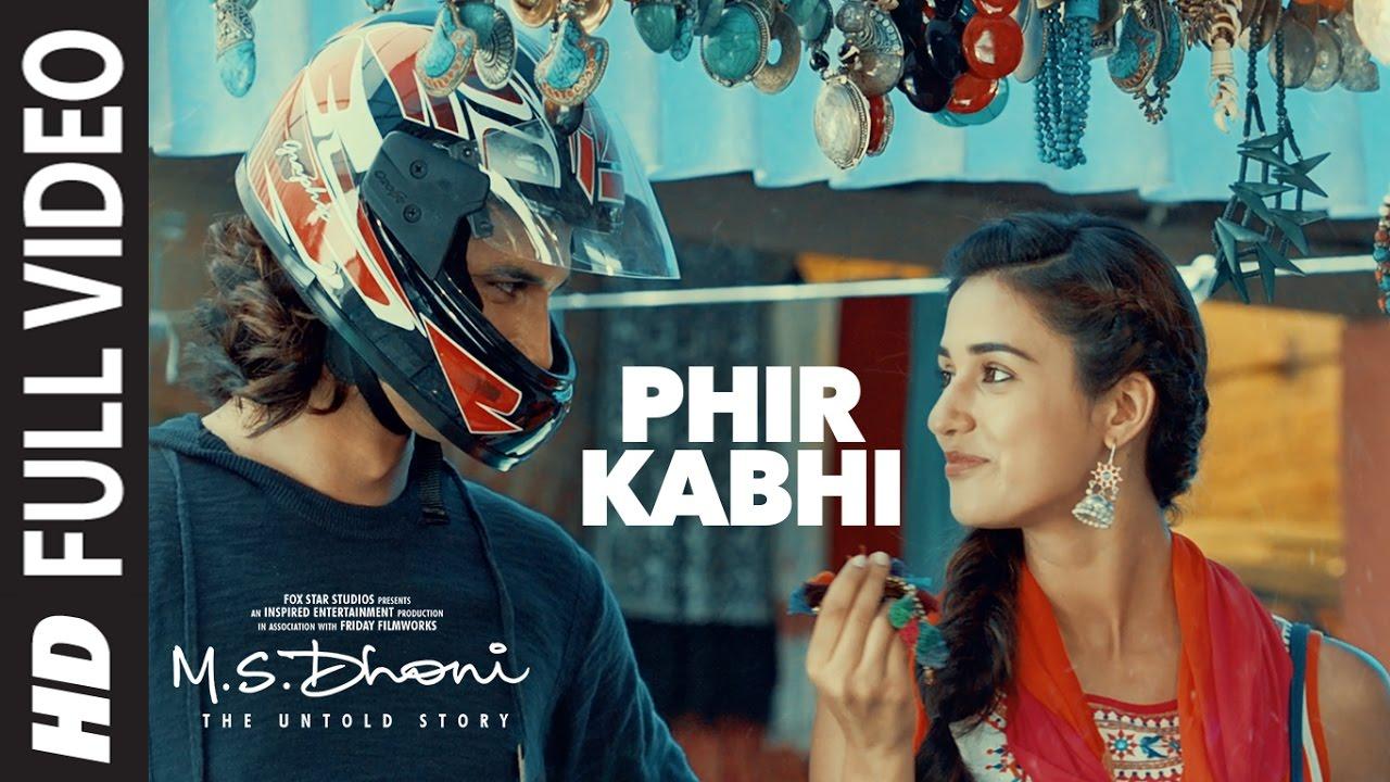 PHIR KABHI LYRICS -M.S.Dhoni -The Untold Story | Arijit Singh | SSR