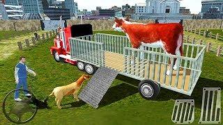 ПЕРЕВОЗКА ЖИВОТНЫХ ВОДИТЕЛЬ ФЕРМЕР ИГРА НА АНДРОИД FARM ANIMAL TRUCK DRIVING TRANSPORT SIMULATOR