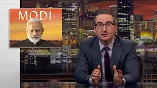 John Oliver talks about India's Prime Minister, Narendra Modi, why he's popular, why he's controversial, and where things are headed for the largest democracy in the world.  Connect with Last Week Tonight online...   Subscribe to the Last Week Tonight YouTube channel for more almost news as it almost happens: www.youtube.com/lastweektonight   Find Last Week Tonight on Facebook like your mom would: www.facebook.com/lastweektonight   Follow us on Twitter for news about jokes and jokes about news: www.twitter.com/lastweektonight   Visit our official site for all that other stuff at once: www.hbo.com/lastweektonight