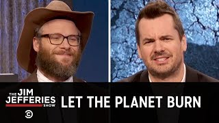 Cole Kleen (Seth Rogen) Is Jim's New Pro-Climate Change Weatherman - The Jim Jefferies Show