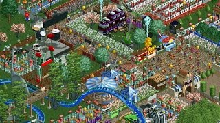 RCT2 - My Cedar Point Park (Download Now Available!) - Самые