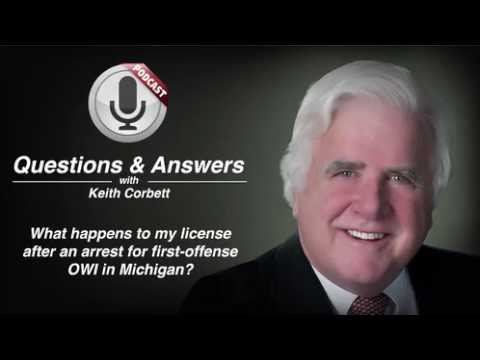 video thumbnail Your license after an Arrest for First Offense OWI in Michigan