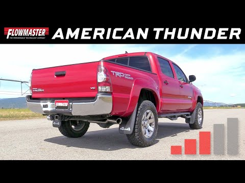 2013-15 Toyota Tacoma 4.0L - American Thunder Cat-back Exhaust System 817614