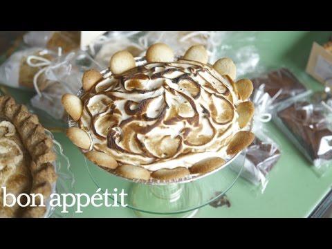 The Creamiest Banana Pudding Pie   Bon Appetit