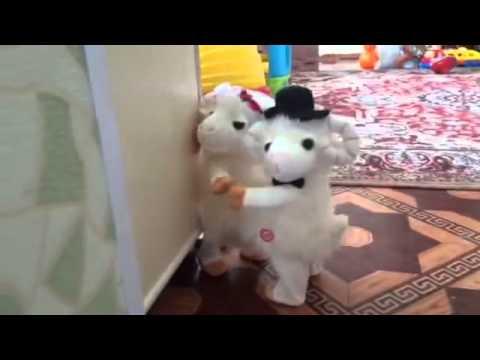 Прикольные Танцующие овечки на новый год