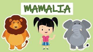 PETUALANGAN SI BUNBUN - Belajar Mengenal Nama-nama Hewan Mamalia