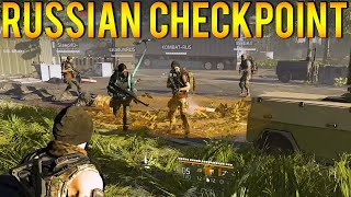 The Division 2 | The Russian Checkpoint in Dark Zone