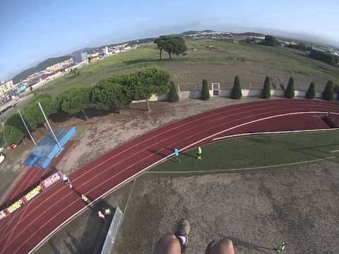 Vídeo aeri meitat de cursa