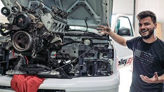 Pulling the Race Truck Engine & 1967 Camaro UPDATE!