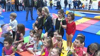 Gimnastică: Nadia Comăneci susţine că proiectul GymNadia ar trebui multiplicat de sute de ori în ţară