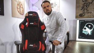 Lohnt sich ein Gaming Stuhl für 100€ - 200€? Die neuen AIM Chairs von Aim Controllers Version 2019