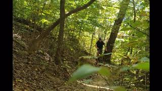 Riding Sope Creek Trails