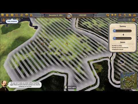 Railway Empire - Patchwork Scenario (Germany DLC) - Part Three