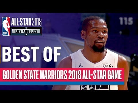 BEST of Warriors   Curry, Durant, Thompson, Green in 2018 NBA All-Star Game