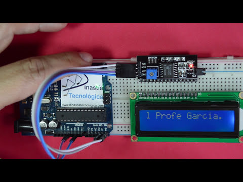 ✅ Conexión de pantalla LCD  con Interfaz I2C