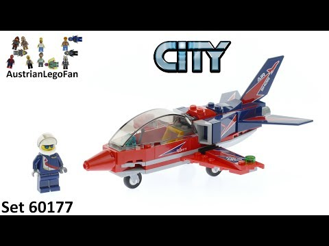 Конструктор Lp «Реактивный самолёт» 02098 (City 60177) 91 деталь
