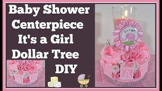 Baby Shower Centerpiece 🍼 Dollar Tree Diy Girls