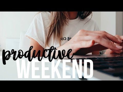 PRODUCTIVE WEEKEND | Healthy Whole Foods Grocery Haul & Sunday Planning