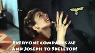 Magda Goebbels begs Hitler to stop calling them Skeletor