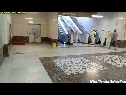 Tempat Wudhu dan Toilet di Masjidil Haram Mekkah