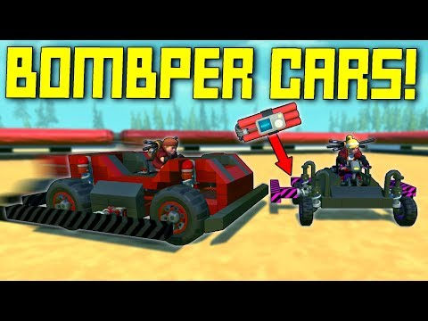 The Most Dangerous Bumper Cars Game Ever Invented... - Scrap Mechanic Multiplayer Monday