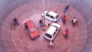 Maruthi Car And Motor Cycle (Bike) Circus/Stunts..