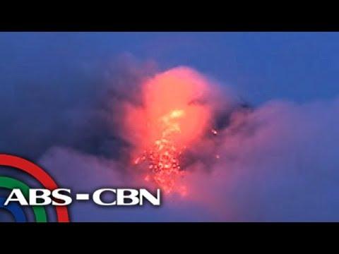 TV Patrol: Higit 70 lava collapse, pagbulwak ng lava, naitala sa Mayon