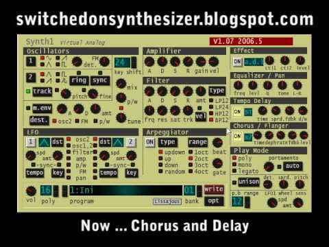 synthesizer programming making a bell sound synthtopia