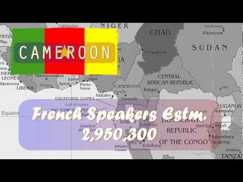 French speaking countries 🇫🇷 Where is French spoken in the world?