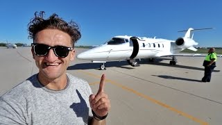 Download Youtube: MY OWN LEAR JET!!