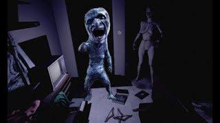 【ホラーゲーム】青い悪魔が追いかけてくる...!Precipice実況プレイ【P.T版青鬼】