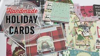 Handmade Holiday Cards // Christmas Card Ideas | I'm A Cool Mom