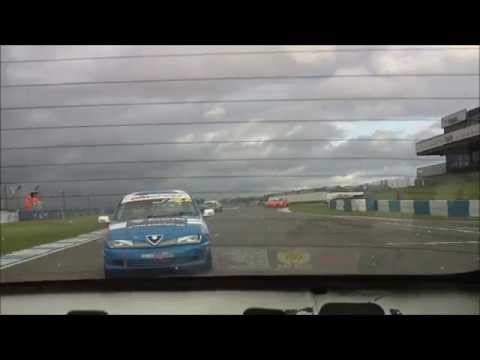 Donington Park 2014 – Race 2 – Dave Messenger – Rear View