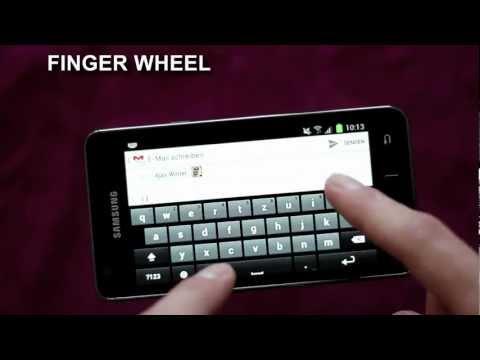 Video of Finger Wheel