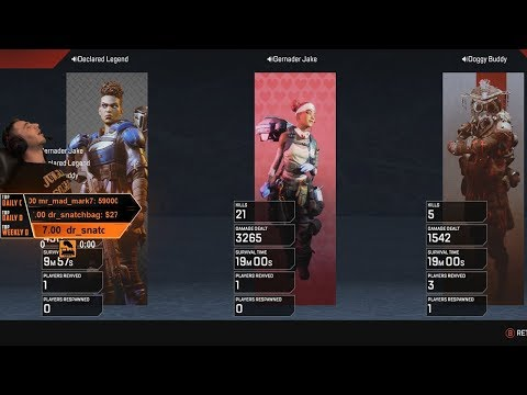 My First 20 Bomb!! - Apex Legends Xbox Gameplay