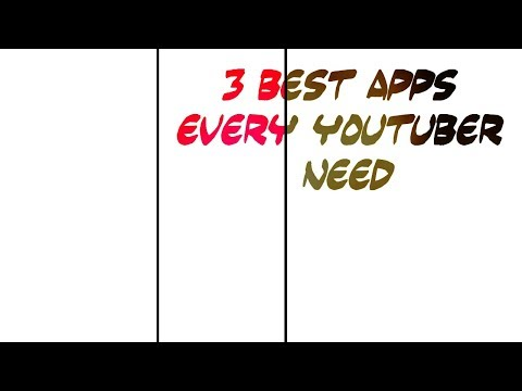 3 best apps for all youtubers 2018 by trending technology and stunts 2018