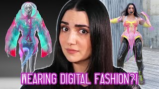 I Wore Digital Clothes For A Week