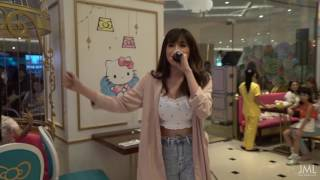 Julie Anne San Jose sings Despacito at Hello Kitty Cafe opening