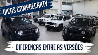 Jeep Renegade 2020 - Diferenças entre as Versões