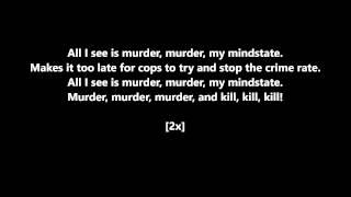 Eminem   Murder, Murder Lyrics (HD)
