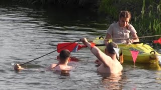Открытое первенство Могилёвской области по технике водного туризма