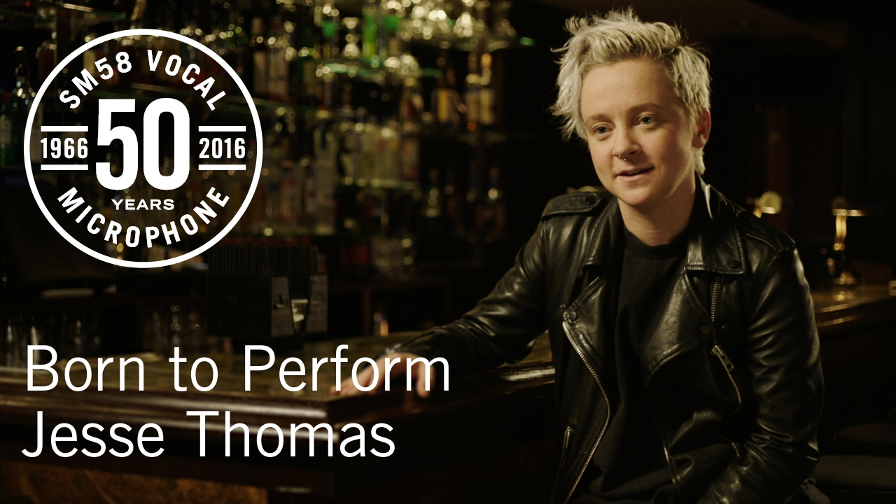 Born to Perform: Jesse Thomas & das Shure SM58