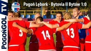 preview picture of video 'Pogoń Lębork - Bytovia II Bytów 1:0'
