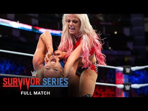 FULL MATCH - Charlotte Flair vs. Alexa Bliss - Champion vs. Champion Match: Survivor Series 2017