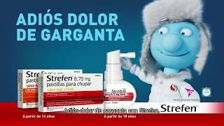 Strepsils Adiós dolor de garganta con Strefen anuncio